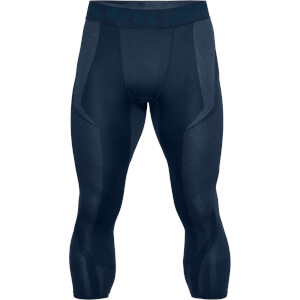 Under Armour Men's Threadborne Seamless 3/4 Leggings - Navy