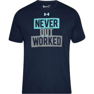 Under Armour Men's Never Worked Out T-Shirt - Navy