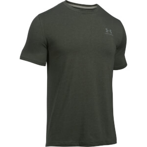 Under Armour Men's CC Left Chest Lockup T-Shirt - Green