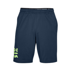 Under Armour Men's MK1 Graphic Shorts - Navy