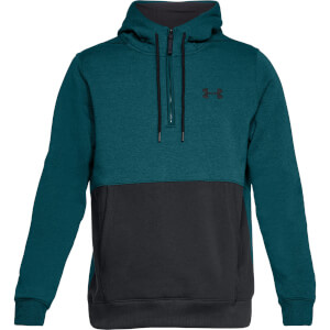 Under Armour Men's Threadborne 1/2 Zip Hoody - Green
