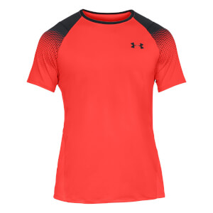 Under Armour Men's MK1 Dash Left Chest T-Shirt - Red