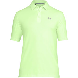 Under Armour Men's Charged Cotton Scramble Polo Shirt - Green