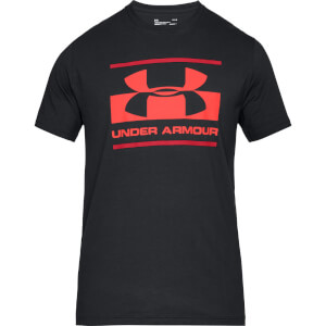Under Armour Blocked Sportstyle Logo T-Shirt - Black