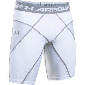 Under Armour Men's Core Shorts - White