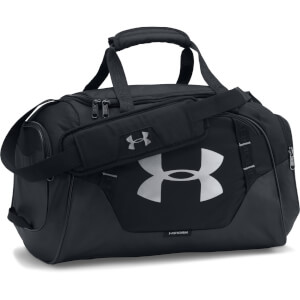 Under Armour Undeniable Duffle Bag 3.0 - Extra Small - Black/Silver