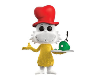 Dr Seuss Flocked Sam I Am EXC Pop! Vinyl Figur