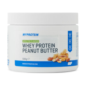 Whey Protein Peanut Butter, Apple Pie, 500g