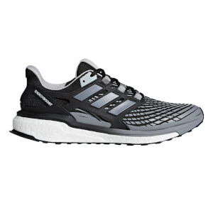adidas Men's Energy Boost Running Shoes - Silver/Grey