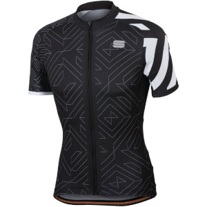 Sportful Prism Jersey - Black/White