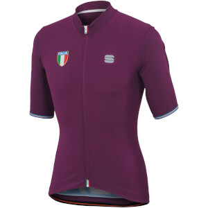 Sportful Italia CL Jersey - Bordeaux