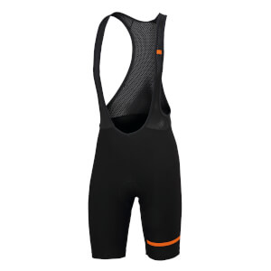 Sportful Giara Bib Shorts - Black/Orange