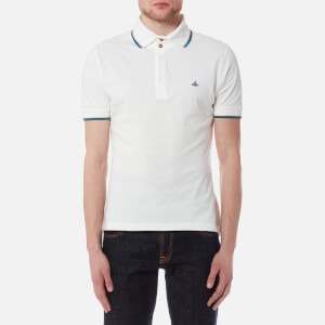 Vivienne Westwood MAN Men's Pique Overlock Polo Shirt - Off White