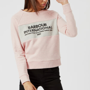 Barbour International Women's Triple Sweatshirt - Pale Pink Marl