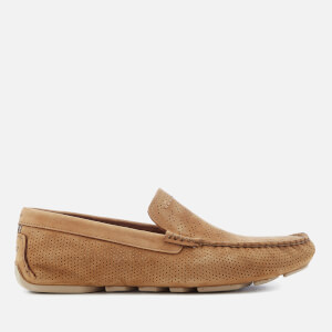 UGG Men's Henrick Stripe Perf Driver Shoes - Tamarind