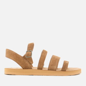 UGG Women's Alyse Strappy Flat Sandals - Chestnut