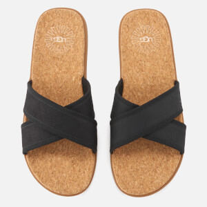 UGG Men's Seaside Slide Sandals - Black