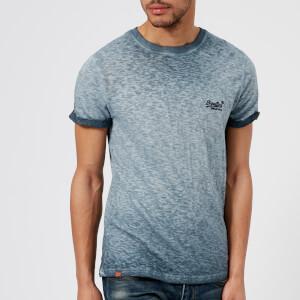 Superdry Men's Orange Label Low Roller T-Shirt - Resort (Riveria) Navy