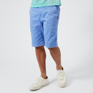 Superdry Men's International Chino Shorts - Hyper Charge Blue
