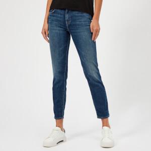 J Brand Women's Johnny Mid Rise Boyfit Jeans - Delta