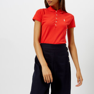 Polo Ralph Lauren Women's Julie Skinny Polo Shirt - Red