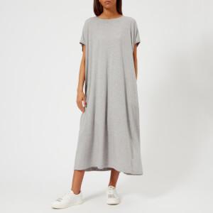 MM6 Maison Margiela Women's Basic Jersey Cotton Dress - Grey Melange