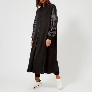 MM6 Maison Margiela Women's Light Cupro Modal Satin Jacket - Black