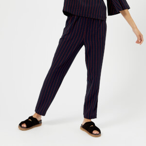 Ganni Women's Clark Trousers - Total Eclipse