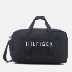 Tommy Hilfiger Men's Light Nylon Duffle Bag - Tommy Navy
