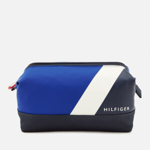 Tommy Hilfiger Men's Block Story Wash Bag - Tommy Navy