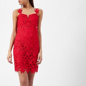 Guess Women's Phoebe Dress - Dern Red