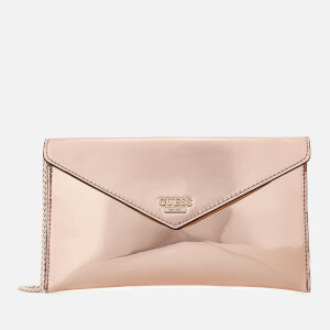 Guess Women's Spring Fling Cross Body Clutch Bag - Rose Gold