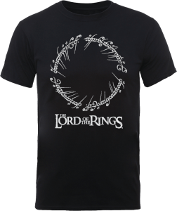 The Lord Of The Rings Black Men's T-Shirt