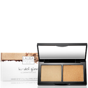 Laura Geller Hi-Def Glow Illuminator Duo - Heart of Gold 8.4g