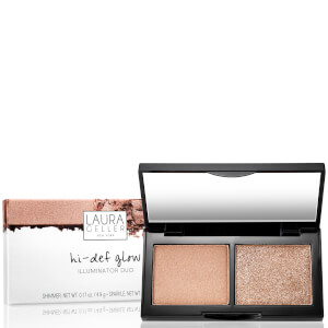 Laura Geller Hi-Def Glow Illuminator Duo - Bed of Roses 8.4g