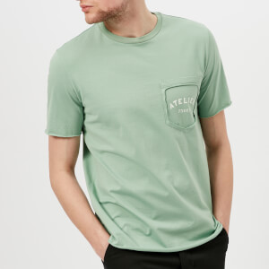 Maison Margiela Men's Mako Cotton Pocket T-Shirt - Soap