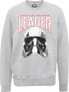 Star Wars Die letzten Jedi (The Last Jedi) Captain Phasma Men's Grau Pullover