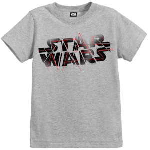 Star Wars Die letzten Jedi (The Last Jedi) Spray Kid's Grau T-Shirt