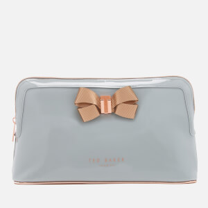 Ted Baker Women's Libbert Bow Wash Bag - Mid Grey