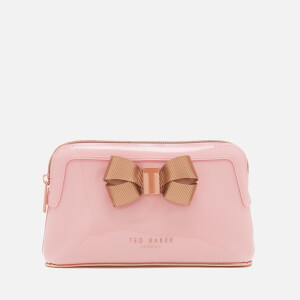 Ted Baker Women's Lezlie Bow Make Up Bag - Pale Pink