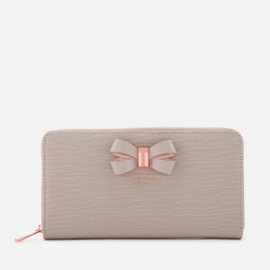 Ted Baker Women's Bow Detail Zip Matinee Purse - Taupe