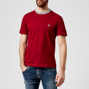 Lacoste Men's Collar Tipped T-Shirt - Andrinople