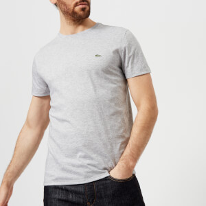 Lacoste Men's Crew Neck T-Shirt - Argent Chine
