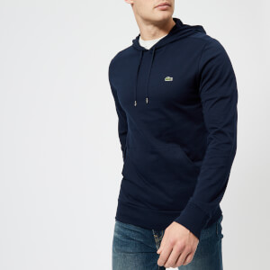Lacoste Men's Lightweight Hoody - Navy Blue