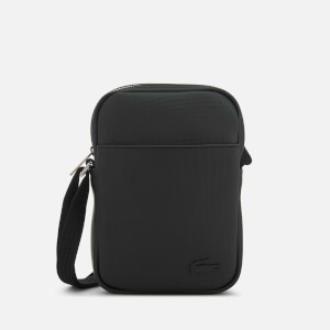 Lacoste Men's Slim Vertical Camera Bag - Black
