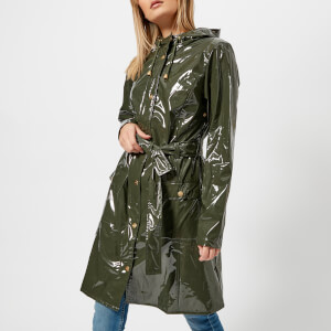 RAINS Women's Curve Jacket - Green