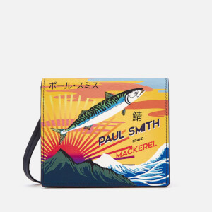 PS by Paul Smith Women's Box Bag with Mackerel Print - Yellow