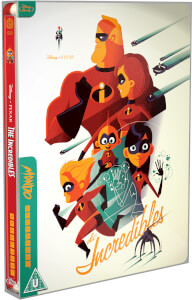 Die Unglaublichen– Mondo #20 Zavvi World Exclusive Limited Edition Steelbook