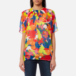 PS by Paul Smith Women's Camouflage Print Top - Multi