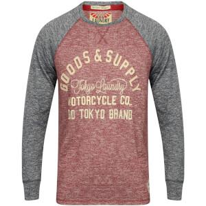 T-Shirt Manches Longues Homme Redwing Tokyo Laundry - Brique